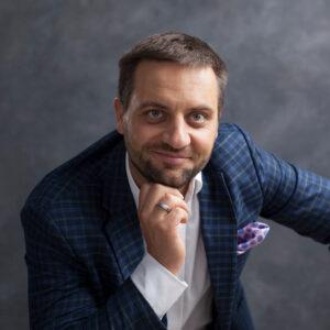 Tomasz Ciosek - współzałożyciel Pracowni Synergii